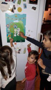 Emília, Tamara, Laura és a Land