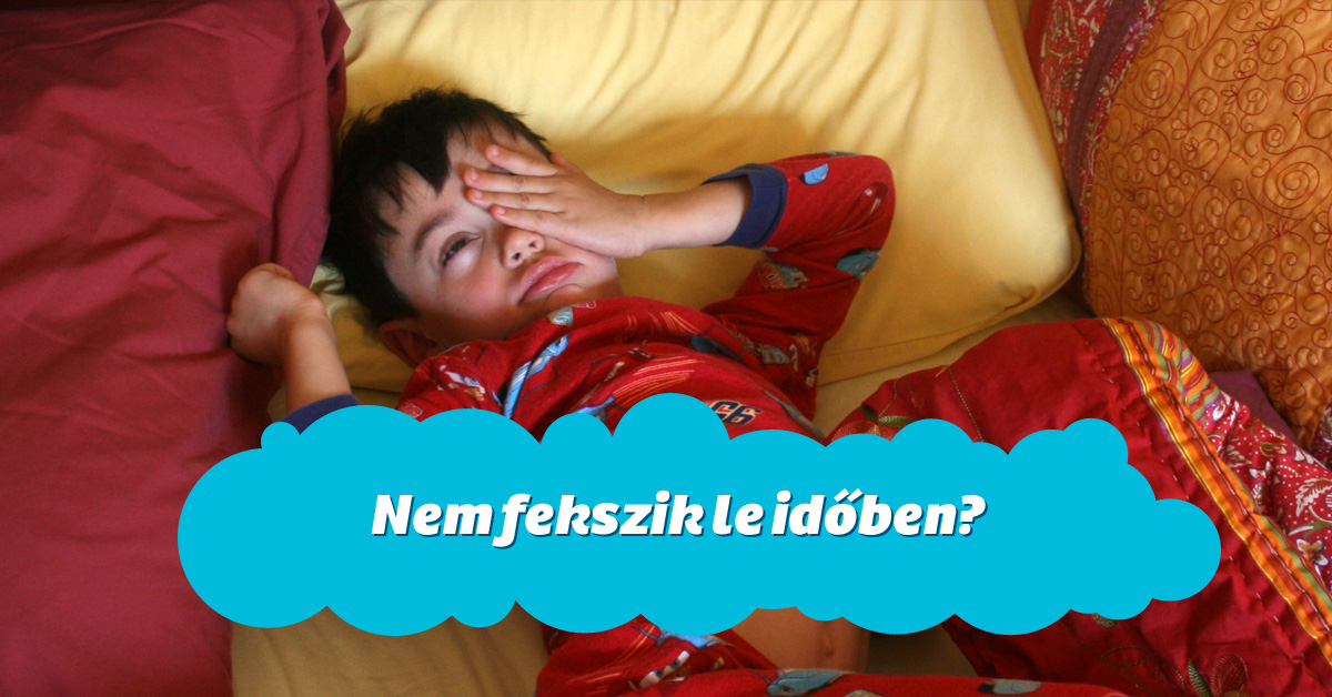 Elalvás segítése
